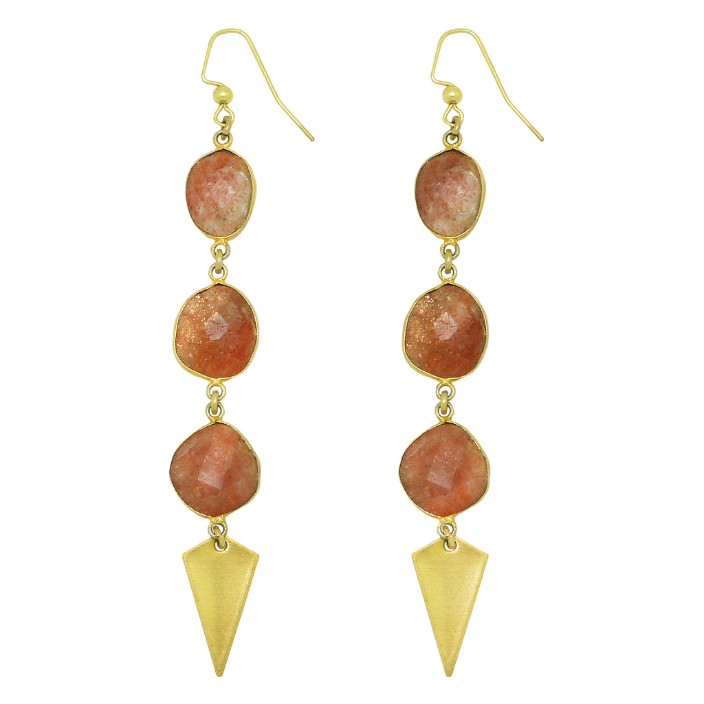 Hespera Angelina Sunstone Dangle Earrings Nordstrom's - ILoveThatGift