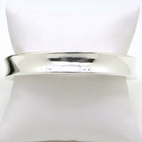 Simon Sebbag Smooth Concave Sterling Silver 925 Bangle Bracelet B1255 - ILoveThatGift