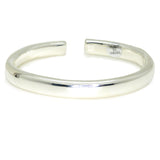 Simon Sebbag Sterling Silver 925 Smooth Split Bangle Bracelet B1365