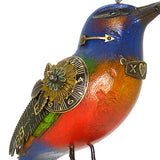 Mullanium Silver Ear Mesia Bird on Binoculars Artists Jim Tori Mullan Handmade  B531 - ILoveThatGift