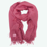 Chan Luu  Meadow Mauve Pink Purple Cashmere And Silk Scarf - ILoveThatGift
