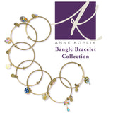 Anne Koplik Swarovski® Unicorn Magic Charm Bangle Bracelet BBG025MUL - ILoveThatGift