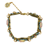 Anne Koplik Multicolor Bracelet Clovers Cushion Cut Swarovski Crystal BR4550MUL - ILoveThatGift