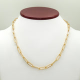 "Carrie Paperclip 18K Gold Link Necklace 18"" or 20""  by Sahira - ILoveThatGift"