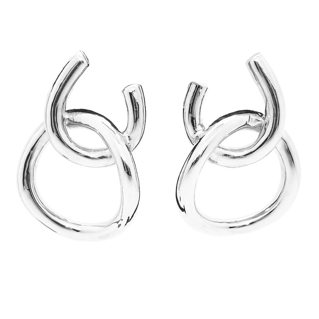 Simon Sebbag Sterling Silver Double Open Circle Earring E2950 - ILoveThatGift