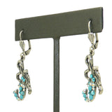 Anne Koplik Roxy Mermaid Drop Swarovski Crystal Earrings ES3147TUR - ILoveThatGift