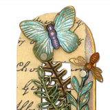 Mullanium Jewelry Framed Steampunk Butterfly Pin Handmade Artists Jim Tori Mullan - ILoveThatGift