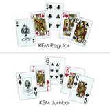 Canasta Set: Kem Double PLASTIC Card Decks Tray Card Holder Point Summary Tote Bag