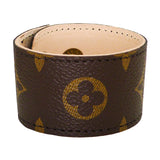 Repurposed LV Monogram Leather Cuff Bracelet Suzy T Designs - ILoveThatGift