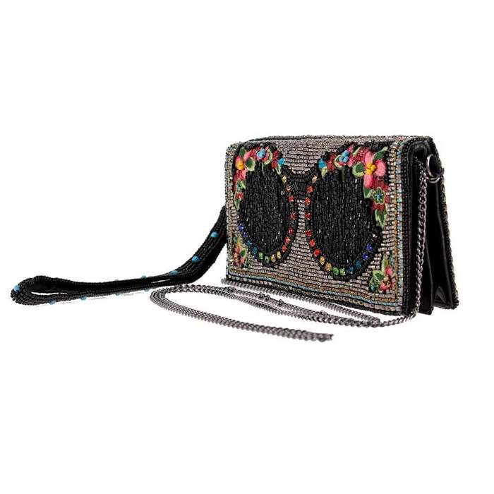 Mary Frances Shades Beaded Embroidered Cross Body Wallet - ILoveThatGift
