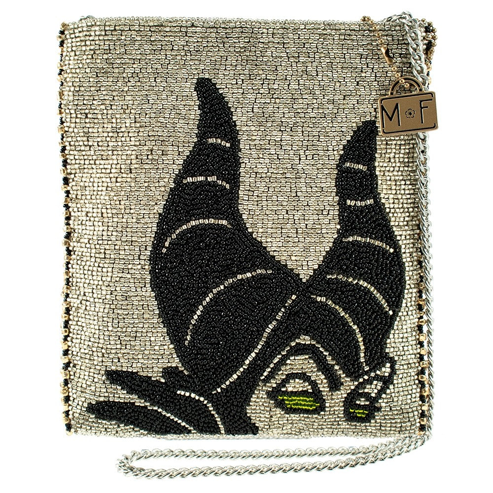 Mary Frances Maleficent Beaded Cross body Handbag Disney Sleeping Beauty - ILoveThatGift