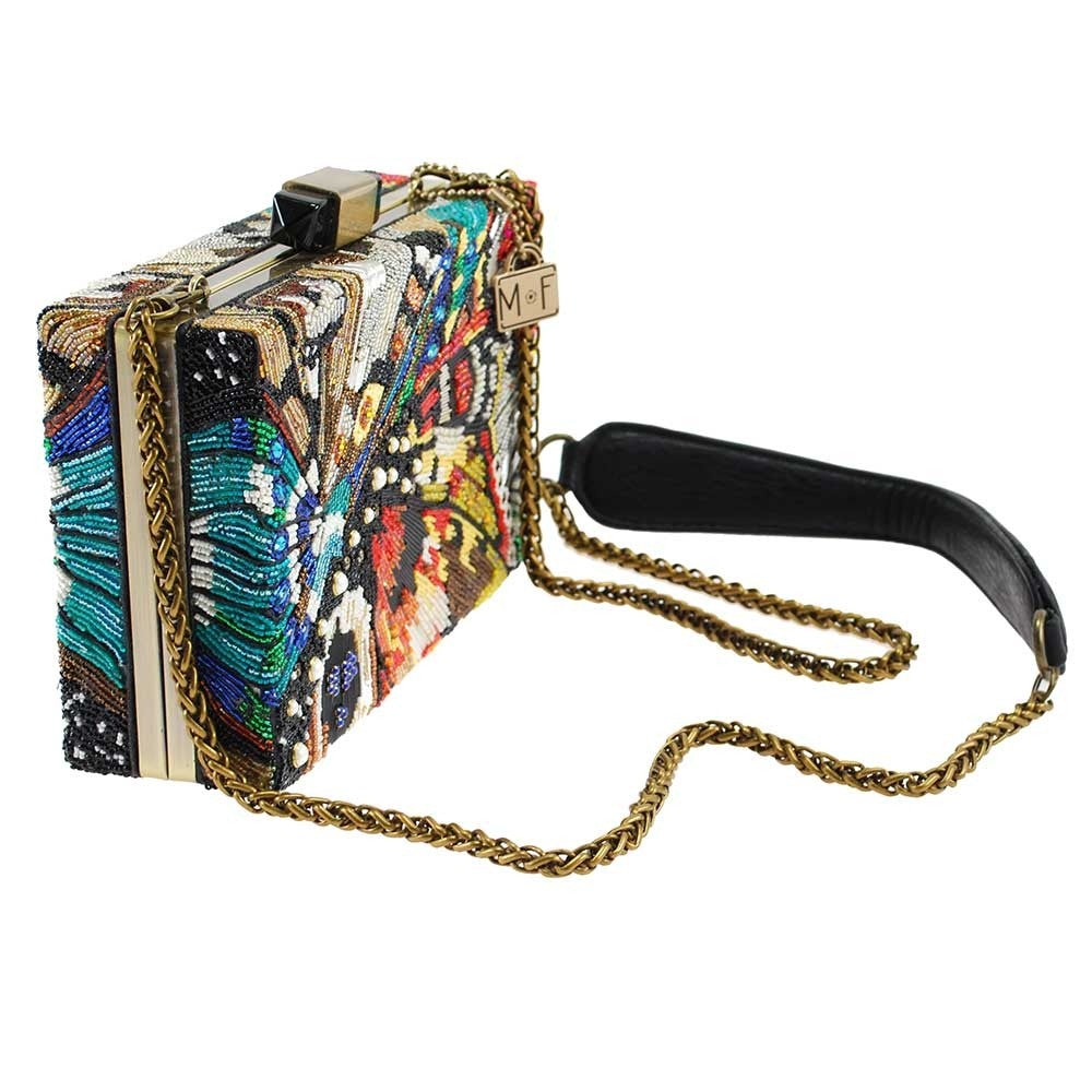 Mary Frances Modern Butterfly Beaded Cross body Handbag - ILoveThatGift