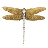 Anne Koplik Abella Dragonfly Pin Brooch with Swarovski Crystal PN5523CRY - ILoveThatGift