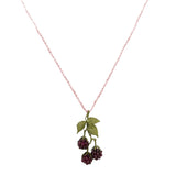 "Raspberry Garnet 15"" Pendant Necklace by Michael Michaud 8112 - ILoveThatGift"