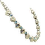Lilly's Allure Blue Aquamarine Swarovski Arrow Bead Leather Necklace SW7 Wear with Uno de 50 - ILoveThatGift