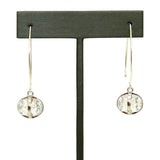 Gigi & Sugar Statement Drop Dangle CZ Earrings in Silver Mount - ILoveThatGift