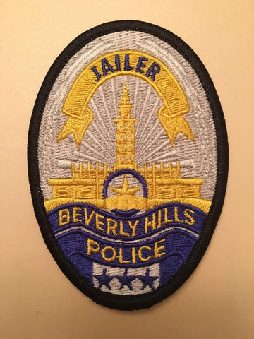 Beverly Hills California Police Jailer Badge Patch