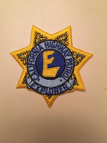 California Highway Patrol  CHP Explorer Badge Patch