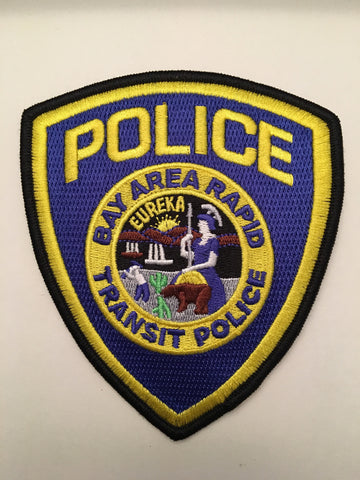 Bay Area Rapid Transit  BART Police Department Patch