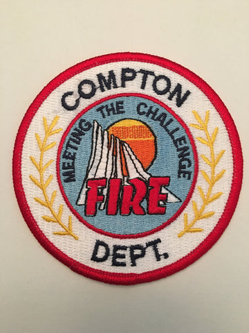Compton California Fire Department Firefighter Shoulder Patch