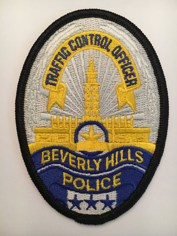 Beverly Hills California Police Department traffic control officer badge patch