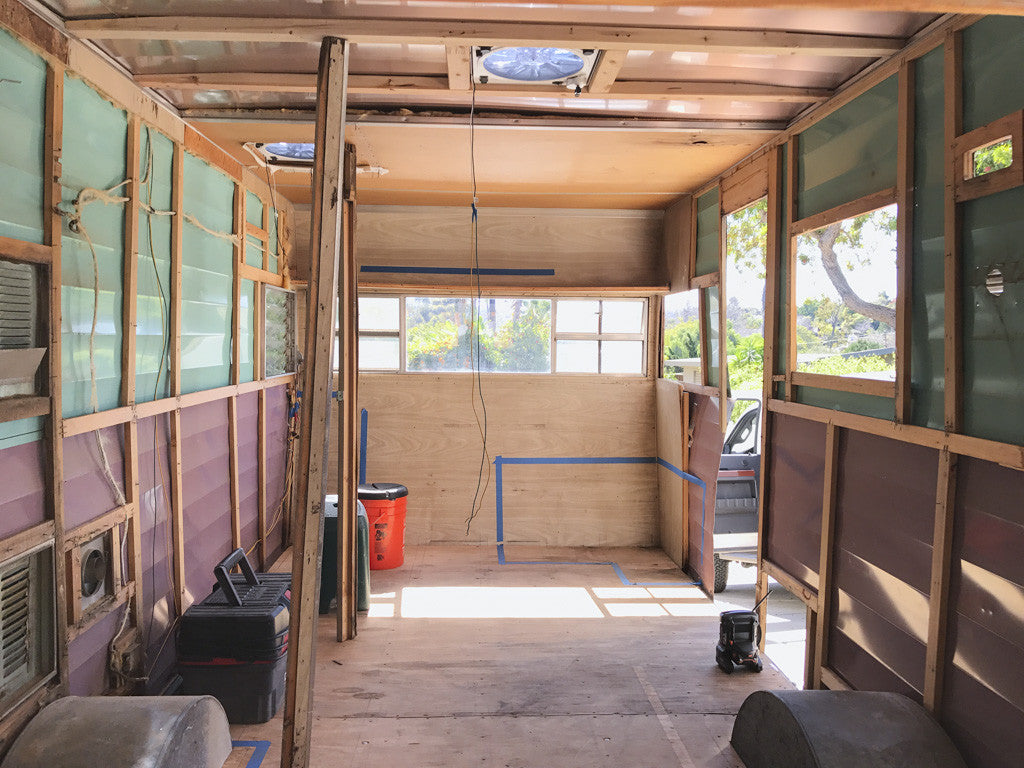 Vintage Shasta Trailer Renovation