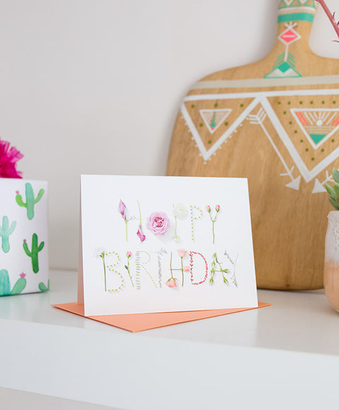 Happy Birthday Card - Dalla Vita - 1