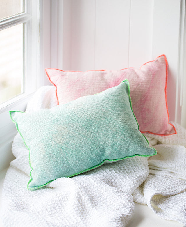 Small Watercolor Pillow - Dalla Vita