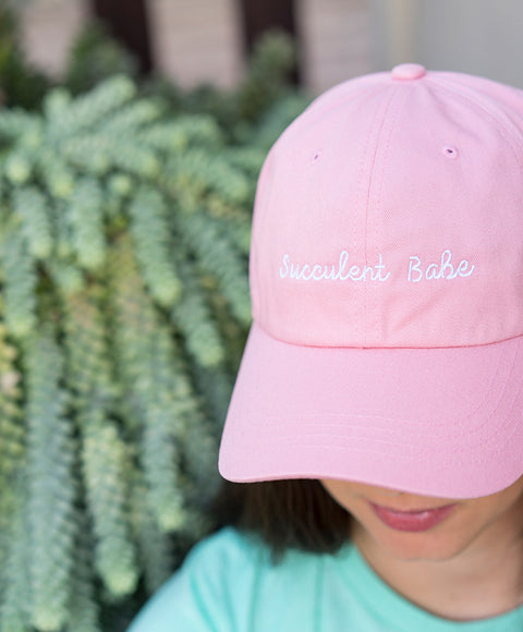 Succulent Babe Hat - Pink