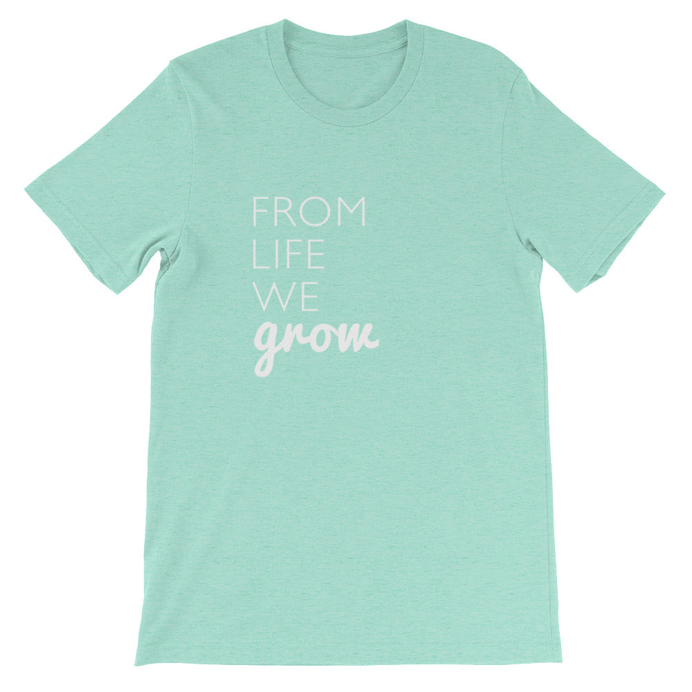 From Life We Grow Tee - Mint