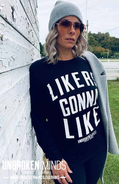 Likers Gonna Like - Long sleeve tee