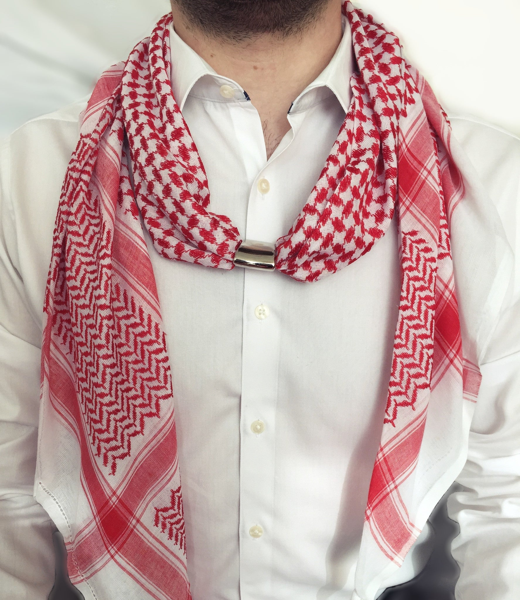 Red Shemagh Scarf V