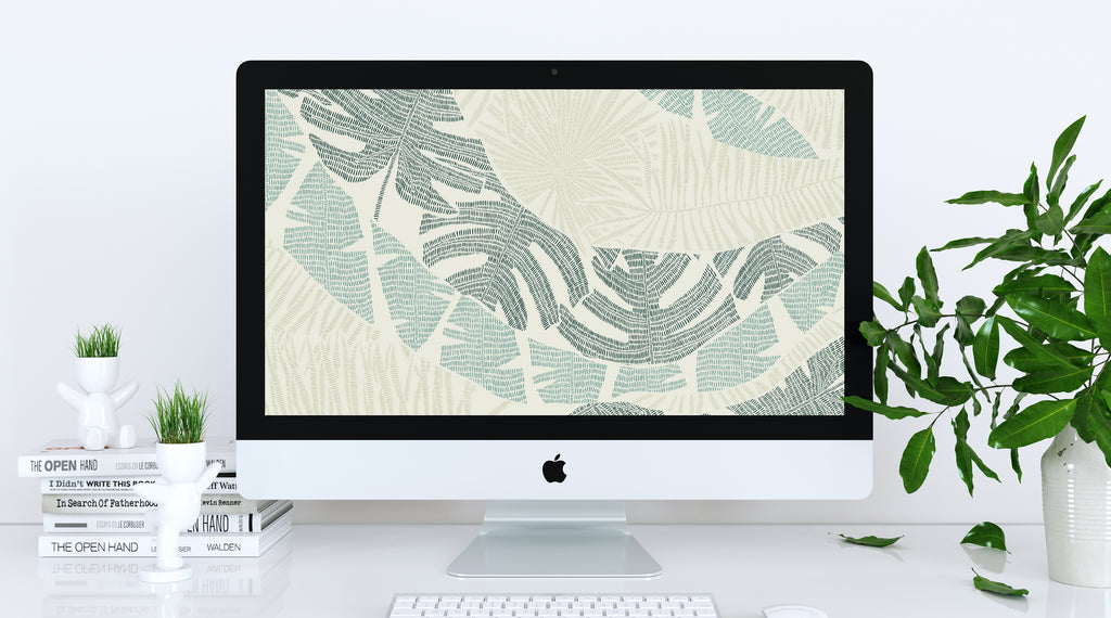 March Freebie: Warm Up With This Tropical Wallpaper Download