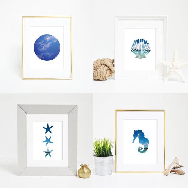 tropical art prints