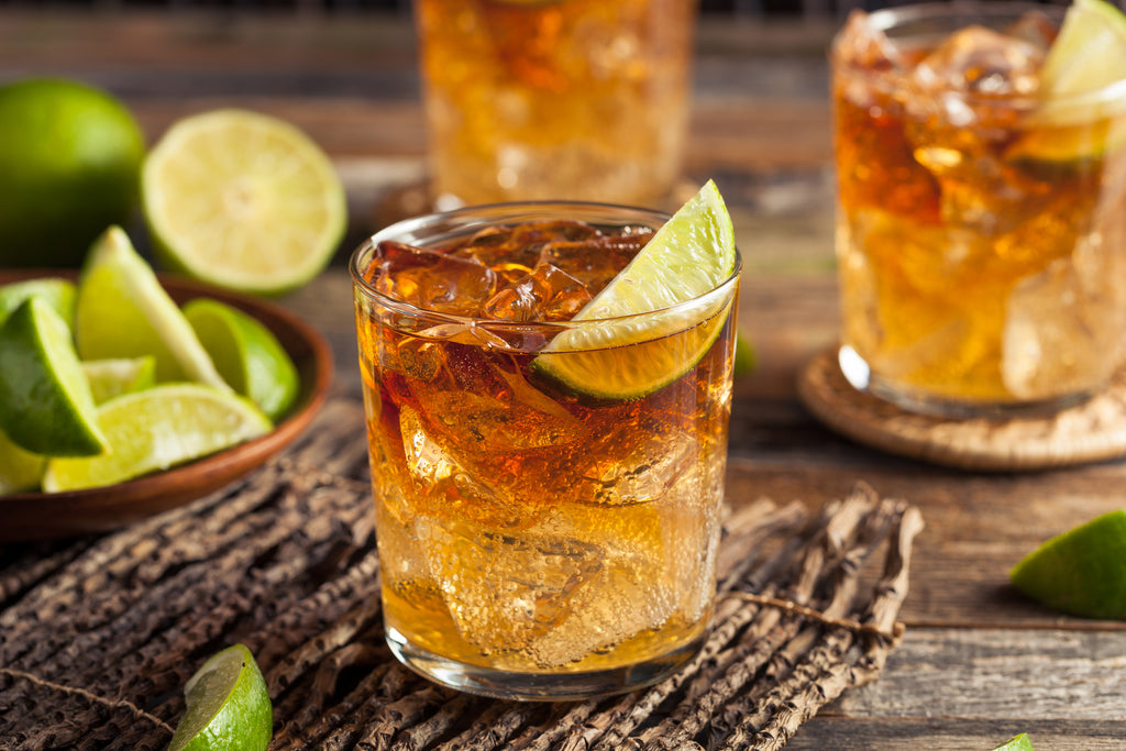 A Dark and Stormy cocktail is the prefect summer drink