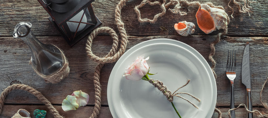 nautical table scape