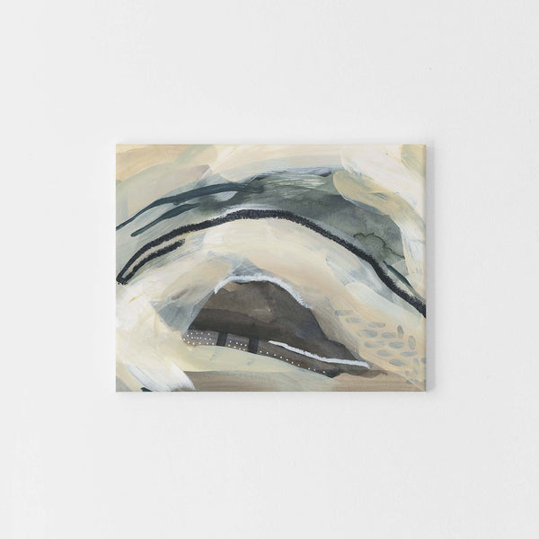 Modern Abstract Movement Neutral Landscape Wall Art Print or Canvas - Jetty Home