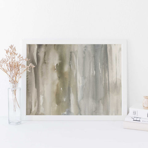 Ethereal Forest Watercolor Abstract Painting Wall Art Print or Canvas - Jetty Home