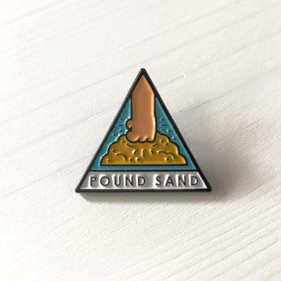 Pound Sand Lapel Pin