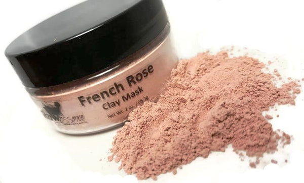 French Rose & Milk Clay Mask