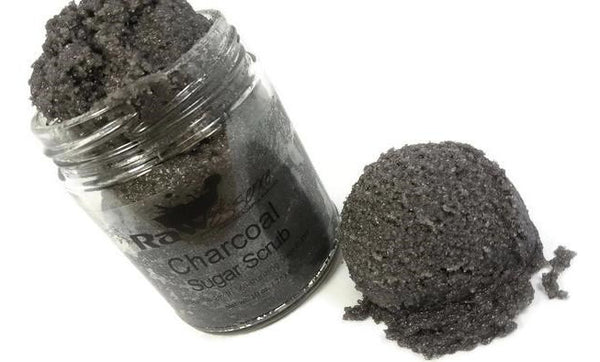 Charcoal Sugar Scrub