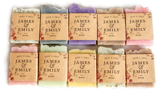 Handmade Soaps - Party Favors