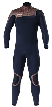 Long John 3.2 mm Thermofinex Concept Camu - Chest Zip