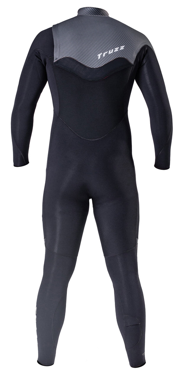 Long John 3.2 mm Thermofinex Concept Carbon - Chest Zip