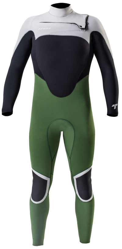 Long John 3.2 mm Thermofinex Japonês - Chest Zip