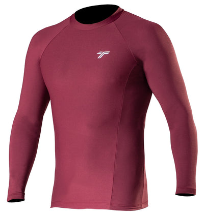 Camiseta Lycra UV50+ Masculina Bordo