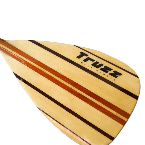 Remo de Madeira Stand Up Paddle - SUP - Truzz Multisports