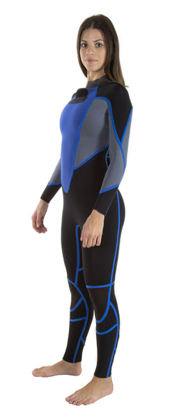 Long John 3.2 mm Vênus - Back Zip - Truzz Multisports