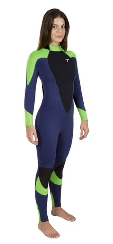 Long John 3.2 mm Vênus - Back Zip - Truzz Multisports - 1