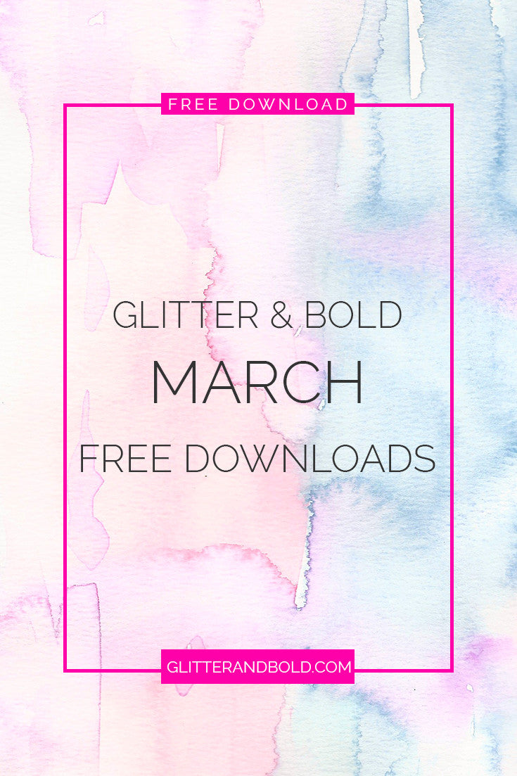 glitter and bold march free downloads